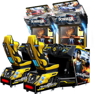 Overtake Arcade Video Racing Games From Wahlap Technology
