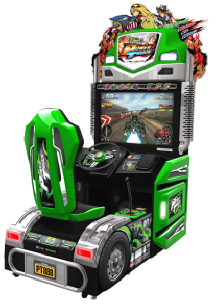 Power Truck Video Arcade Truck Racing Game Video Arcade Game - IAAPA 2011 Best Of Show Award Silver Medal Winner