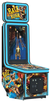 Rail Rush Arcade Videmption Arcade Games From Coastal Amusement