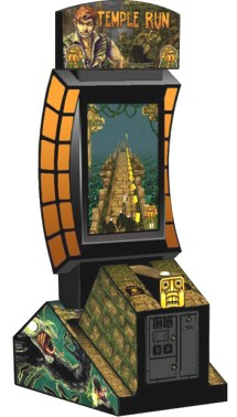 Temple Run Video Arcade Game / Videmption Game From Coastal Amusements