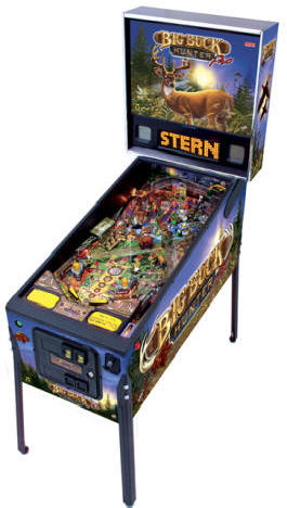 Big Buck Hunter Pinball Machine From Stern Pinball