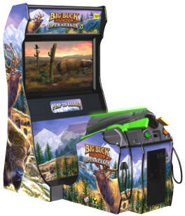Big Buck Hunter Pro Open Season Deluxe Video Arcade Game  From Raw Thrills / Betson / PLay Mechanix
