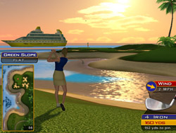 Golden Tee Live 2007 Screen Shot | From BMI Gaming: 1-800-746-2255