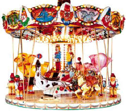 Circus Carrousel - 7357  |  From Falgas Amusement Rides