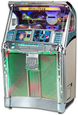 Classic 2100 Digital CD Jukebox By Wurlitzer Jukeboxes