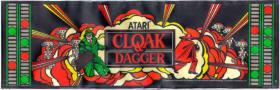 Cloak & Dagger Video Game - Atari 1983