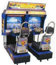 Cool Riders Twin Model Video Arcade Game