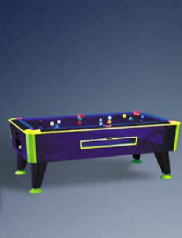 Cosmic Coin Operated Pool Table By ICE From BMI Gaming: 1-866-527-1362