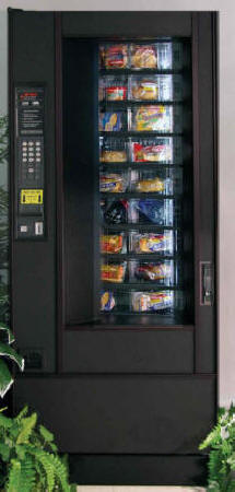 The Deli Shop Fresh Food Carrousel Vending Machine By GPL From BMI Gaming