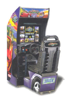 Cruis'n World / Cruisin World Standard Video Arcade Game