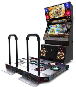 Dance Dance Revolution X | DDR- X Dance Floor Video Arcade Machine By Konami 10th Anniversary Model