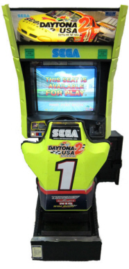 Dyatona USA 2 Standard Single Video Arcade Racing Game From SEGA
