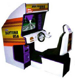Daytona USA LE - Limited Edition Model Video Arcade Game