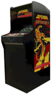 Defender and Defender 2 / Stargate Video Arcade Game From Team Play - Coin Operated