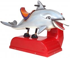 Dolphin Kiddie Ride - 35  |  From Falgas Amusement Rides