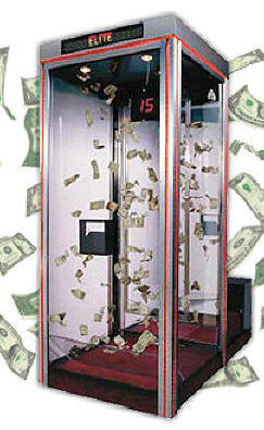 how to build a money blowing machine