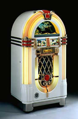 Wurlitzer Elvis Presley Limited Edition Jukebox Model 1015 From BMI Gaming!