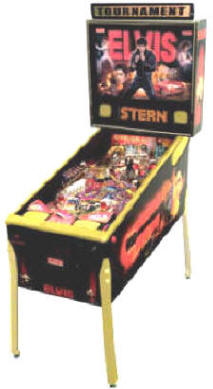 Elvis GOLD Limited Edition Pinball Machine By Stern Pinball