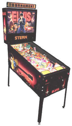 Elvis Pinball Machine - Full View