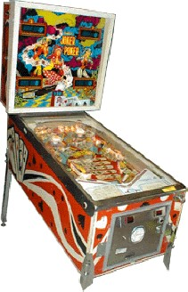 Joker Poker Pinball Machine From D. Gottlieb Co.