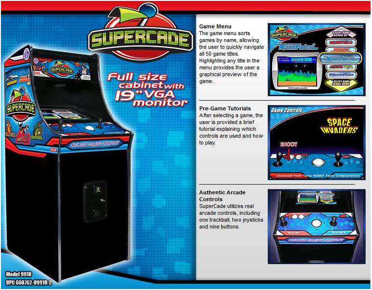 Multi Game Arcade Cabinet | MF Cabinets