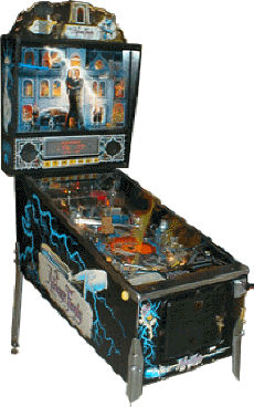 Addams Family Pinball Machine From Williams / Bally Maufacturing