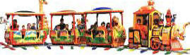 Safari Train Kiddie Ride | Falgas