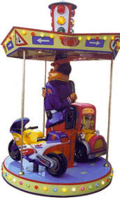 Falgas Carrousel Traffic - 20357 - From BMI Gaming: 1-800-746-2255