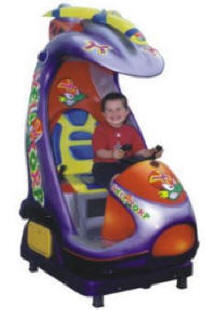Helicopter 4 Kiddie Ride - 21335  |  From Falgas Amusement Rides