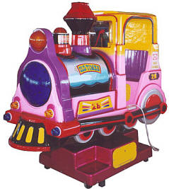 Rio Grande Interactive Train Kiddie Ride - 24074  |  From Falgas Amusement Rides