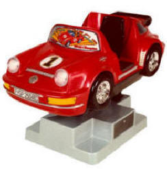 Falgas Porsche 911 Kiddie Ride - 4521 - From BMI Gaming: 1-800-PINBALL