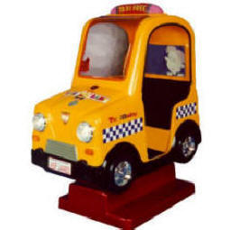 Falgas Taxi  Kiddie Ride - 9804 - From BMI Gaming: 1-800-746-2255