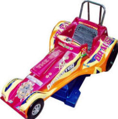 Dragster Race Car Kiddie Ride - 31336  |  From Falgas Amusement Rides
