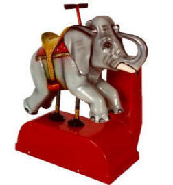 Elephant Kiddie Ride - 36  |  From Falgas Amusement Rides