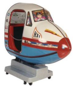 Falgas Flight Simulator Kiddie Ride - 31 - From BMI Gaming: 1-800-746-2255