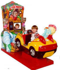 Falgas Fun Photo Car Kiddie Ride - 12087 - From BMI Gaming: 1-800-746-2255