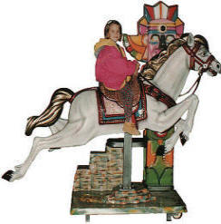 Falgas Furia Express Horse Kiddie Ride - 5945 - From BMI Gaming: 1-800-746-2255