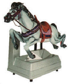 Falgas Furia Horse Kiddie Ride - 4511 - From BMI Gaming: 1-800-746-2255