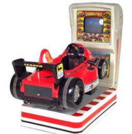 Falgas Grand Prix Race Car Kiddie Ride - 5928 - From BMI Gaming: 1-800-746-2255