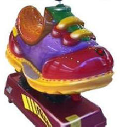 Happy Shoe Kiddie Ride - 21752   |  From Falgas Amusement Rides