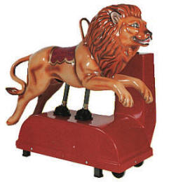 Lion Kiddie Ride - 5528  |  From Falgas Amusement Rides