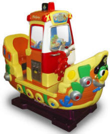 Pirates Boat Kiddie Ride / Pirate's Boat Redemption Ride - 33084  |  From Falgas Amusement Rides