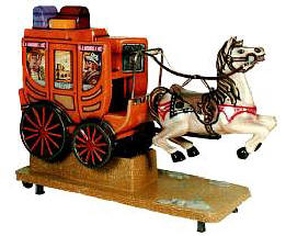 Falgas Stagecoach Kiddie Ride - 5926 - From BMI Gaming: 1-800-746-2255