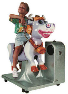 Milka Cow Kiddie Ride - 1519  |  From Falgas Amusement Rides
