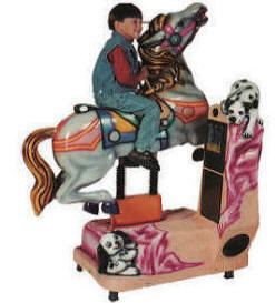 Wind Horse Kiddie Ride - 11982  |  From Falgas Amusement Rides