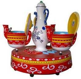 Fantasy Coffee Cups - Merry Go Round Kiddie Ride