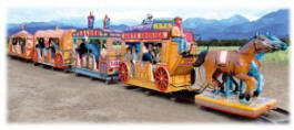 Far West Train Kiddie Ride - 20323 |  Falgas