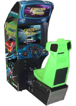 Faster Than Speed Standard Model Video Arcade Game