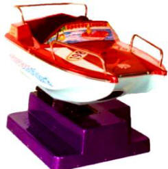 Falgas Speedy Launch Boat Kiddie Ride - 5447 - From BMI Gaming: 1-800-746-2255
