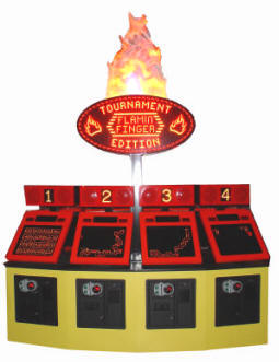 Flamin' Finger Tournament Edition Model Ticket Redemption Game By Namco Bandai America